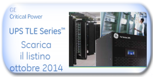 Listino UPS Ottobre 2014 in pdf - Gruppi di continuità GE Industrial Solutions