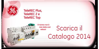 Scarica in pdf il Catalogo 2014 Telerec - Interruttore differenziale con riarmo automatico
