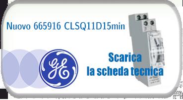 Nuovo 665916 CLSQ11D15min